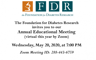 FDR Annual Educational Meeting 2020- Telehealth & Diabetes Tech